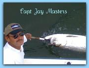 Capt Jay Masters on fat cat fishing charters in clearwater fl.