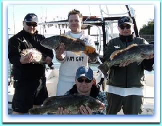 Black Grouper fishing and deep sea fishing florida.