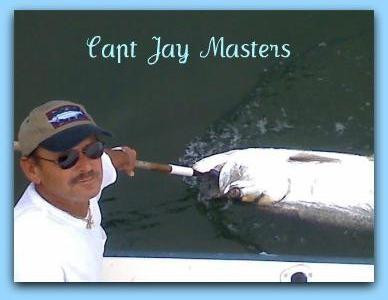 Captain Jay Masters fat cat fishing charters.